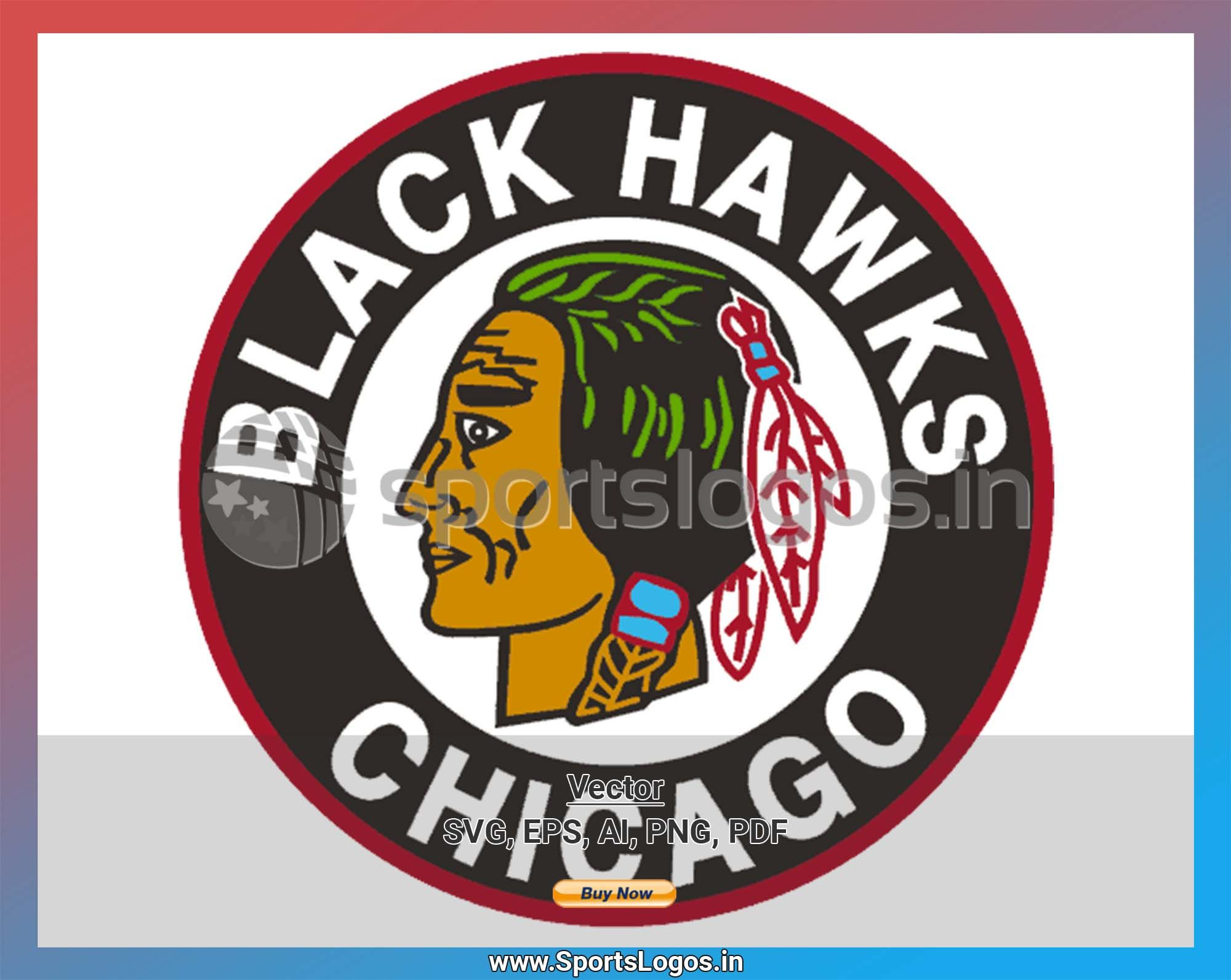 Chicago Black Hawks Hockey Sports Vector Svg Logo In 5 Formats Spln000790 Sports Logos Embroidery Vector For Nfl Nba Nhl Mlb Milb And More Sport Hockey Blackhawks Hockey Chicago