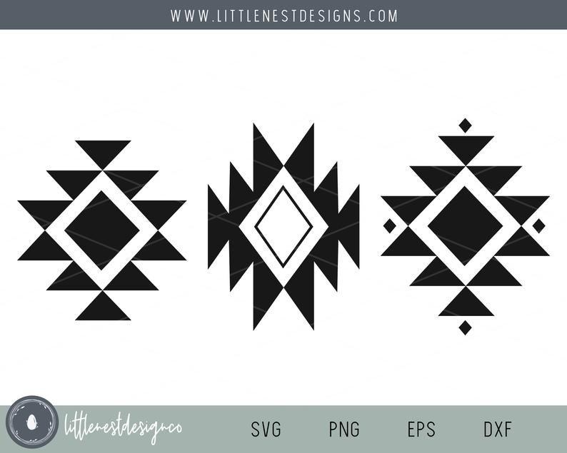 Tribal Pattern Svg Pattern Boho Tribal Pattern Tribal Etsy In 2021 Tribal Design Pattern Tribal Patterns Southwestern Design Patterns