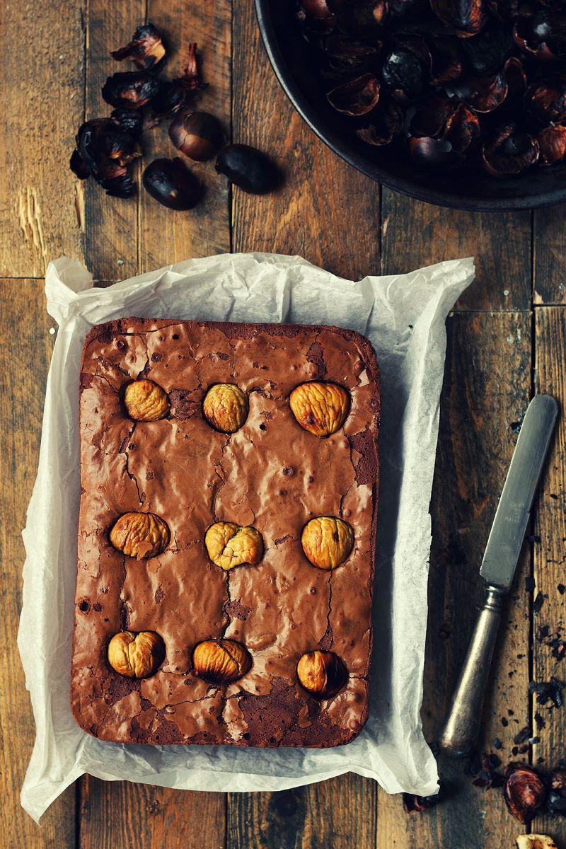 Brownie Con Castañas Asadas Kanela Y Limon Recetas De Comida Recetas Chilenas