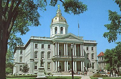 Concord Nh New Hampshire Capitol Building Travel Facts