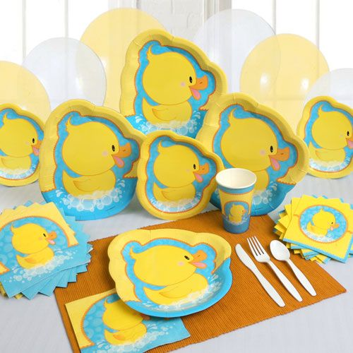 ducky duck party ware will get everyone paddling over to your, Baby shower invitation