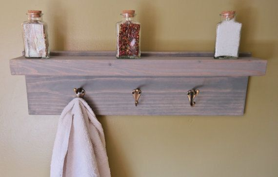 Weathered Gray Rustic Bathroom Floating Bath by MainelyRusticDecor ...