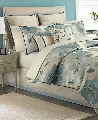 Martha Stewart Collection Garden Retreat 9 Piece California King Comforter Set