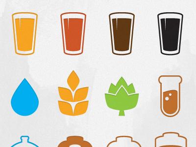 Beer Icons Beer Icon Craft Beer Labels Beer Tattoos