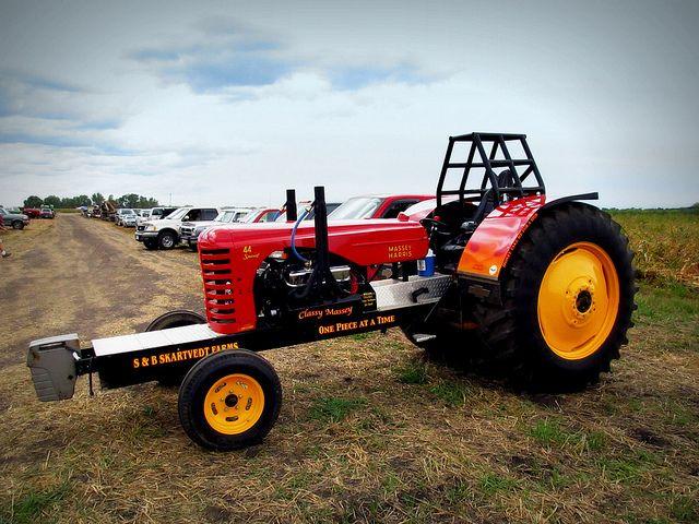 Garden Tractor Pulling Crashes : Massey harris hot rod tractor pulling tractors big and