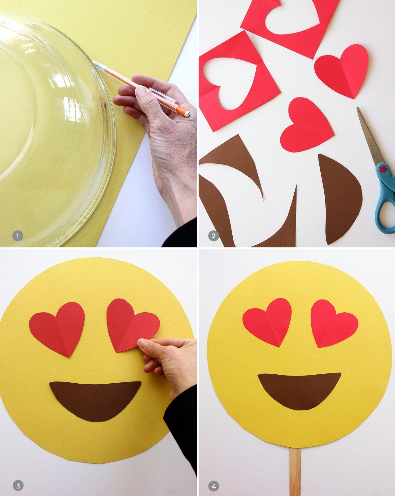 Diy Emoji Masks Party Ideas Pinterest Fasching