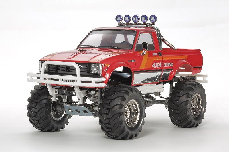tamiya toyota 4x4 pick up mountain rider limited edition. Black Bedroom Furniture Sets. Home Design Ideas