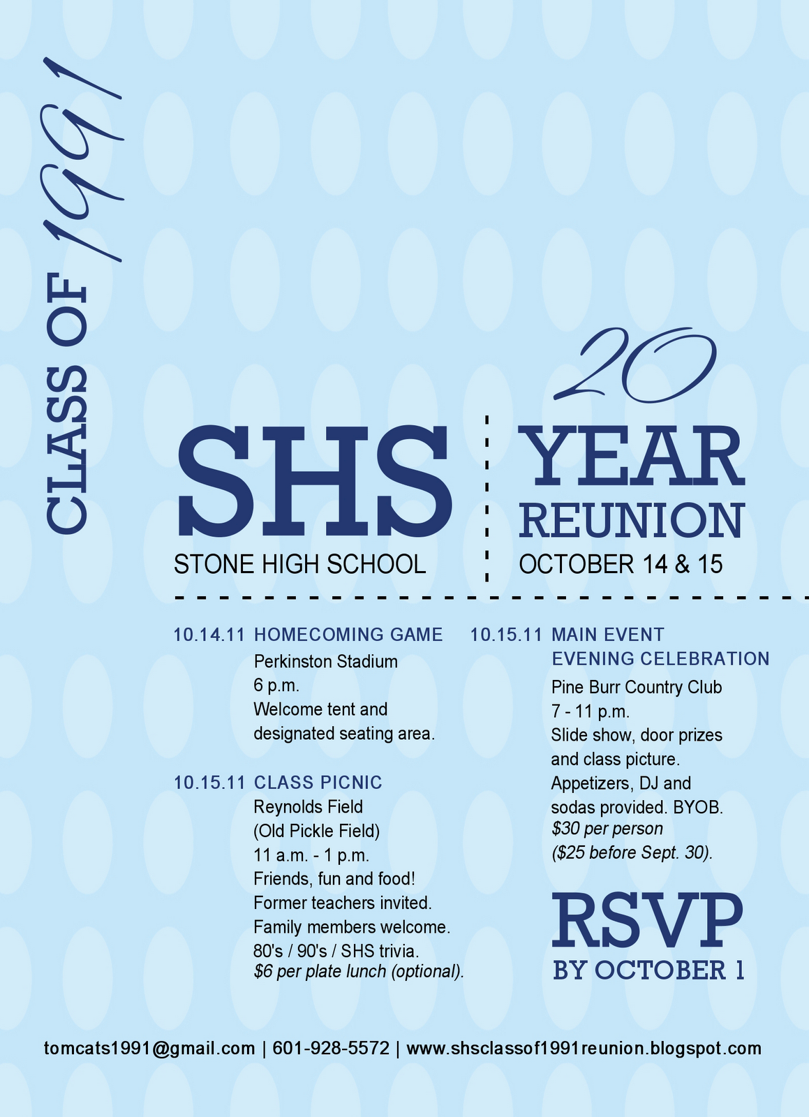 Event for reunion | Invitations | Pinterest