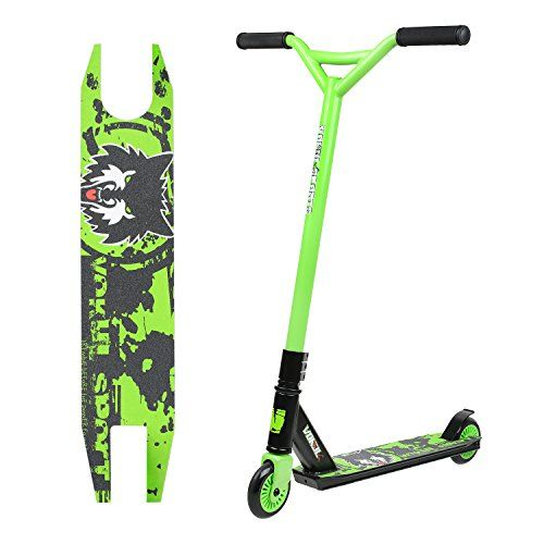 Reinforced 20 L4.1 W Deck CrMo4130 Chromoly Bar VOKUL Pro Stunt Scooter with Stable Performance Best Entry Level Trick Freestyle Pro Scooter for Age 7 Up Kids,Boys,Girls