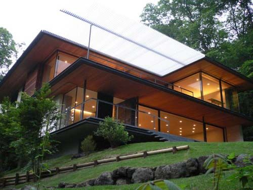 modern japanese house | modern architecture of rural japanese