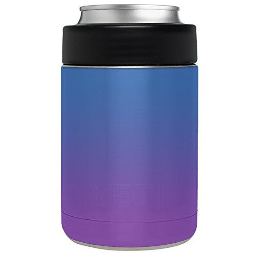 559784c909c Amazon.com : Aretty - Gradient Fade Custom Colors Vinyl Skin Decal Wrap for  the Yeti Rambler Colster (Colster Not Included) (Orange / Pink Gradient) ...