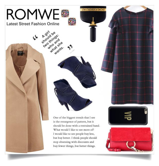 """Romwe"" by maidaa12 ❤ liked on Polyvore featuring Boohoo, Vince Camuto, Chloé, Kate Spade, Tom Ford and Casetify"