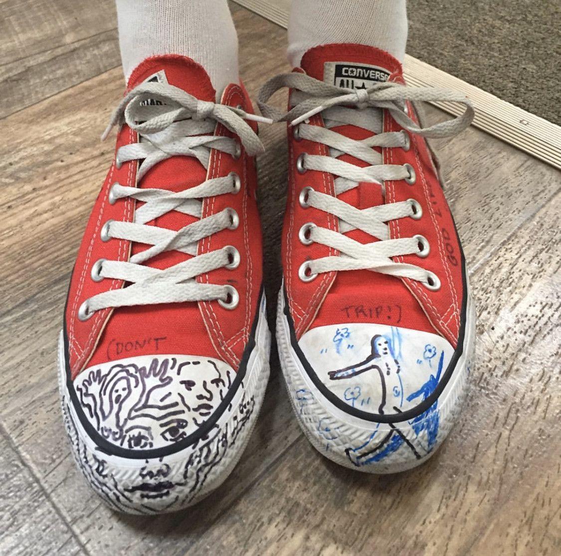 sneakers in stranger things