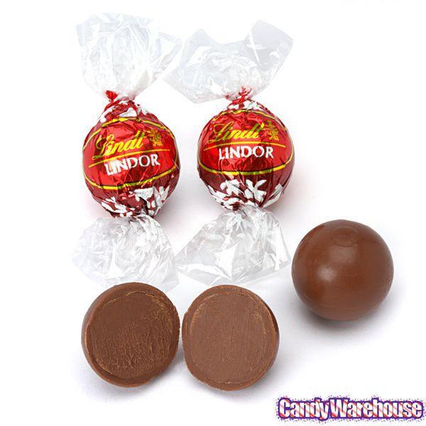Lindt Chocolate Lindor Truffles Milk 60 Piece Box