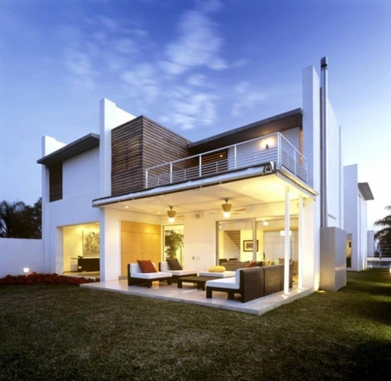 Minimalist Home Exterior Design Ideas With Large Yard Nice Design