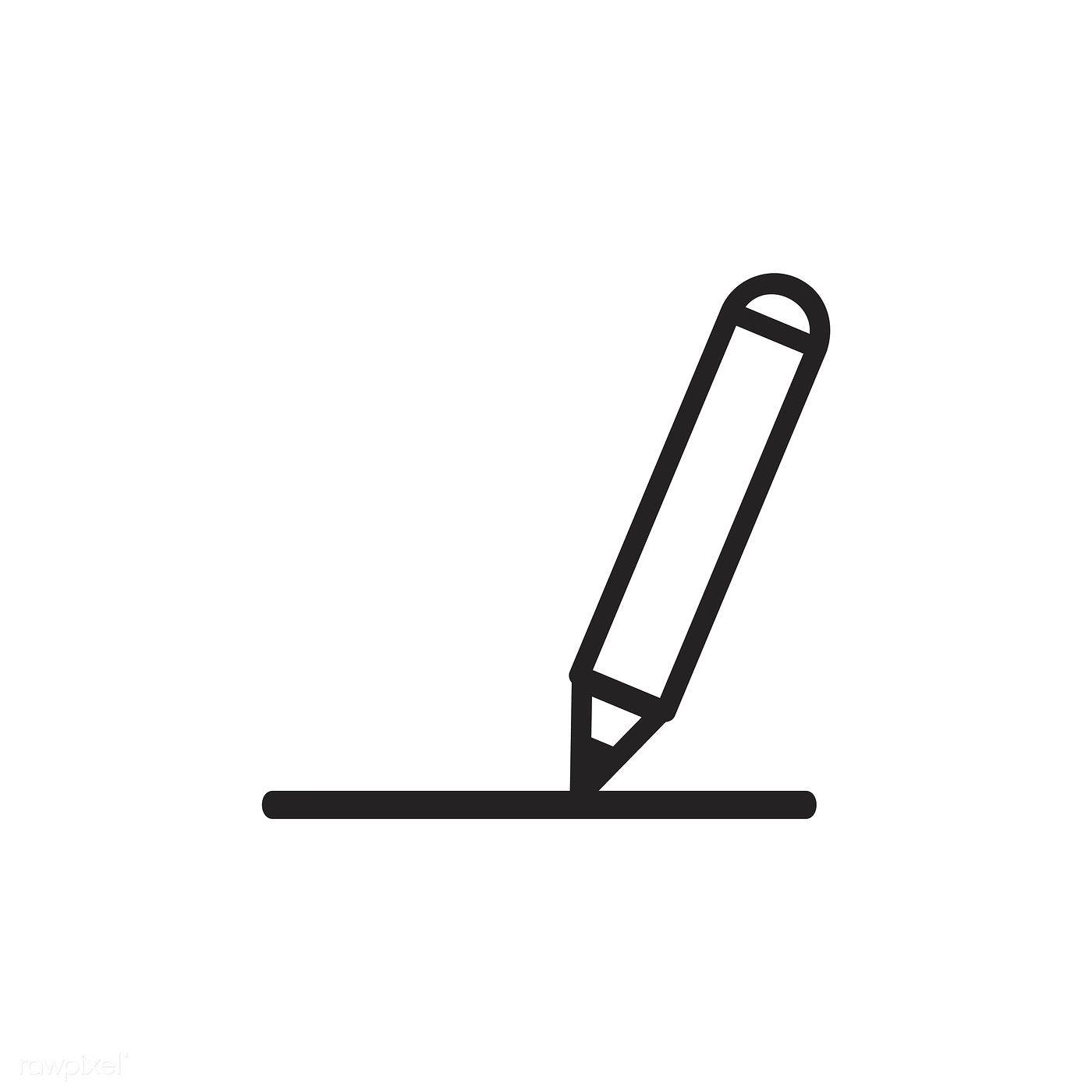 Pencil icon vector | free image by rawpixel.com | Vector ...