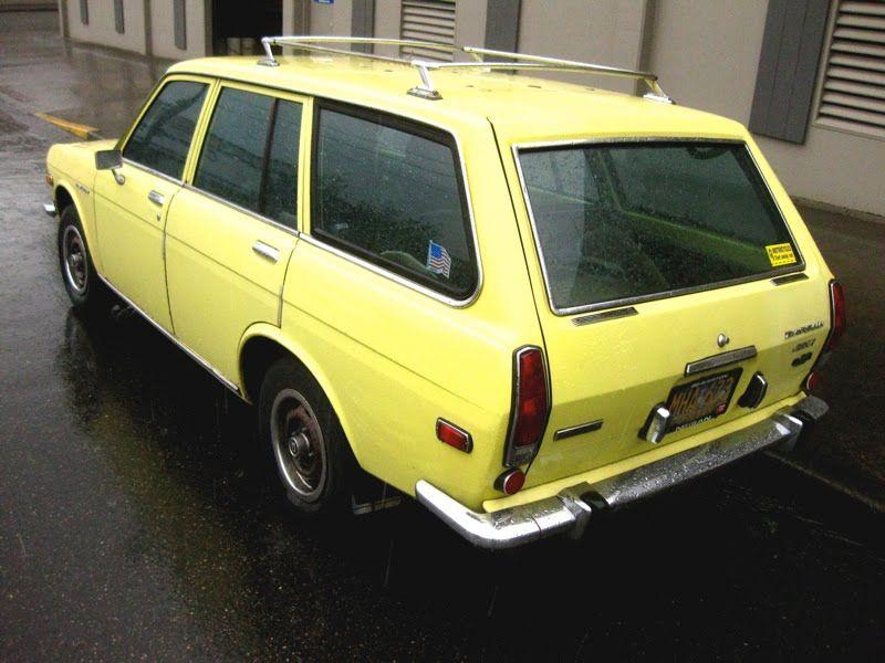 1969 Datsun 510 Wagon My First Car Looked Exactly Like This Datsun 510 Datsun Wagon