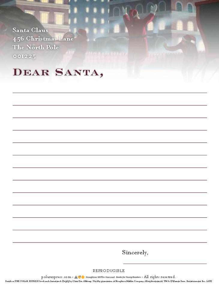 Polar express, Dear