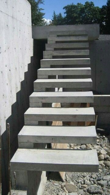 Merveilleux Escalera Concreto | 7  ScalEras | Pinterest | Concrete Stairs, Concrete And  Staircases
