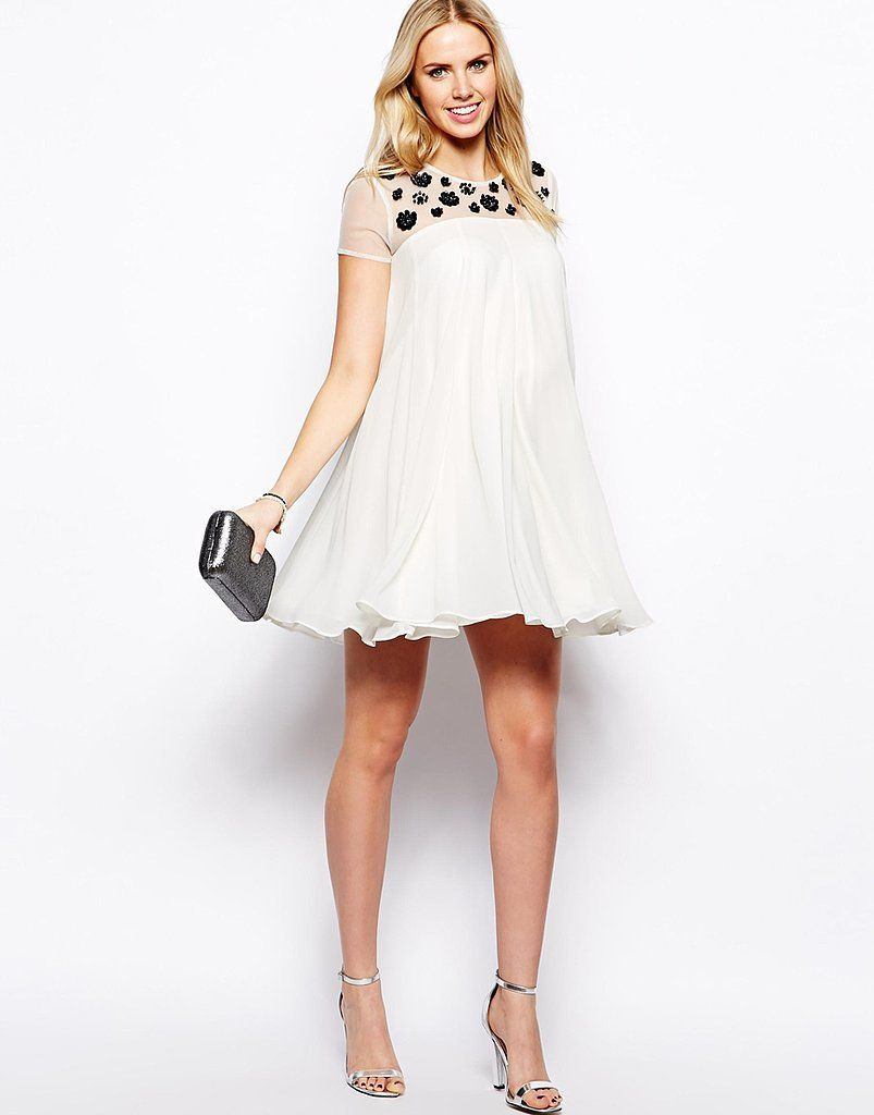 We love the mod look of ASOS's Embellished Swing Dress ($122 ...
