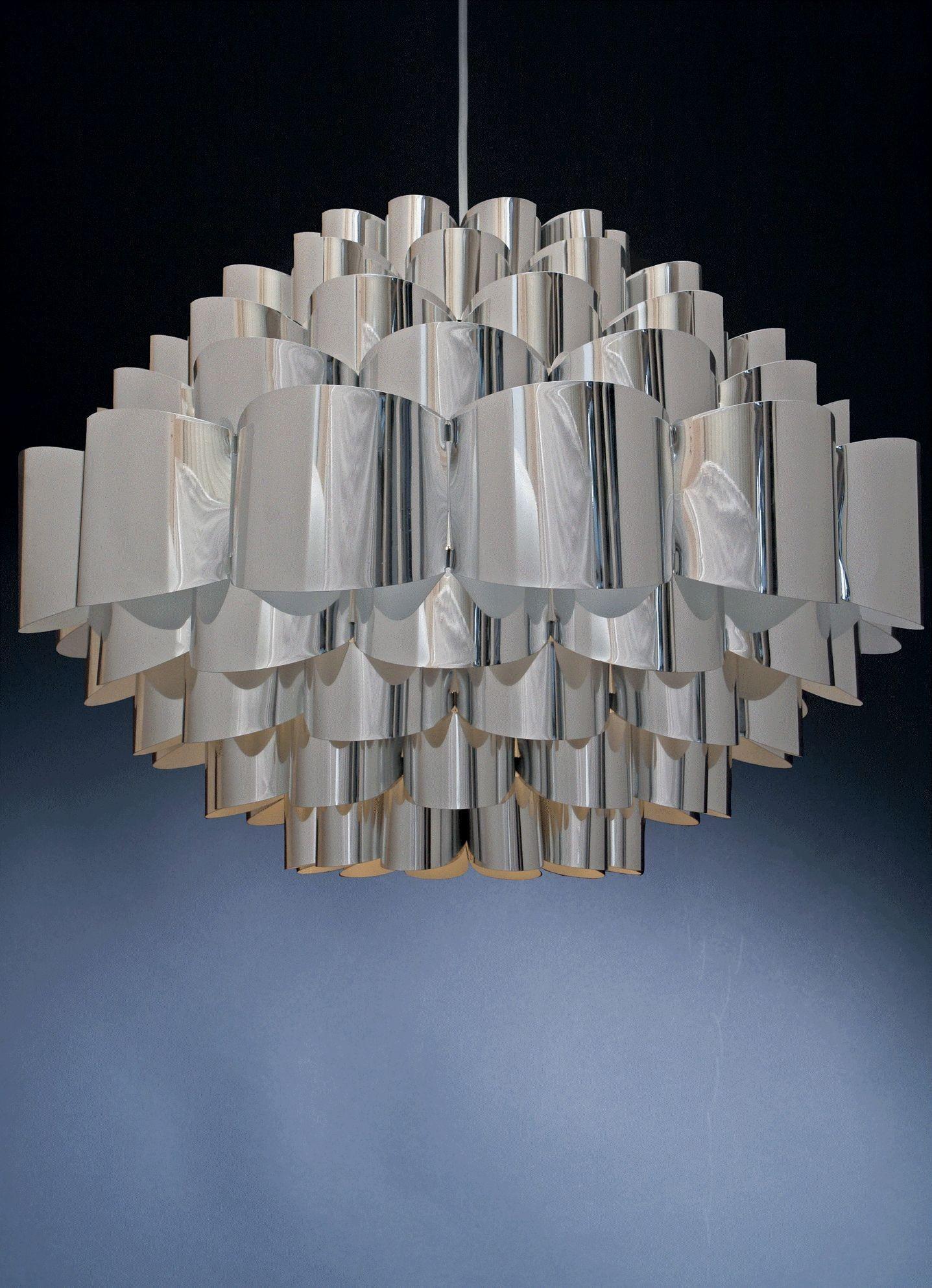 Diamond Silber Hängelampe - Large