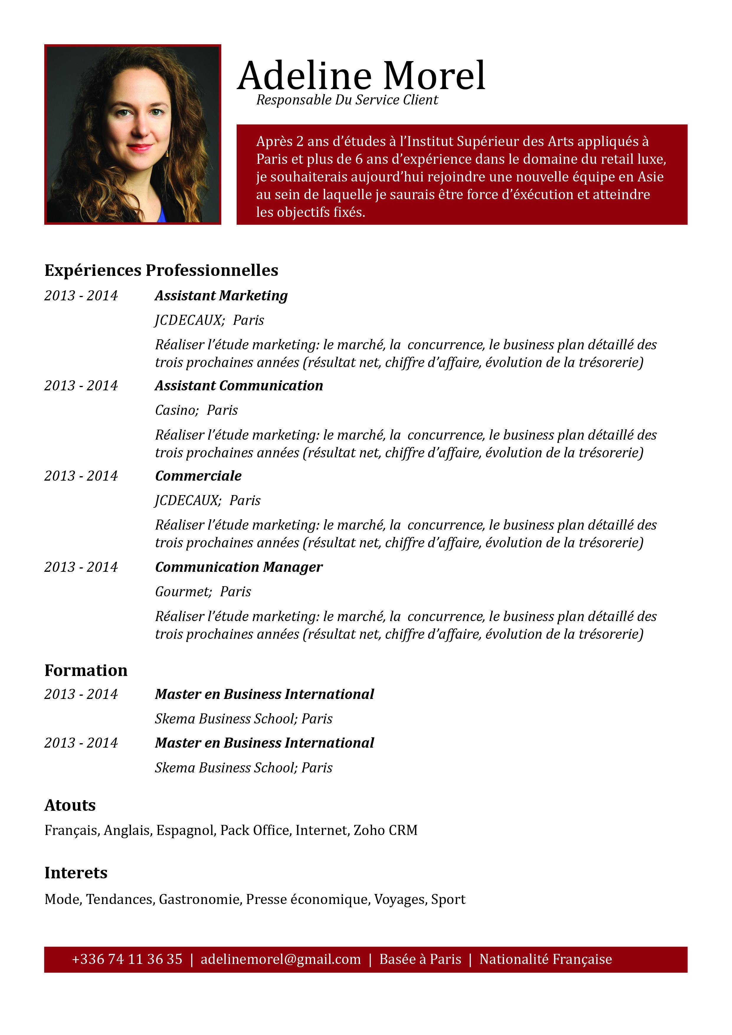 Actif Parfaitement Clair Agreable Et Sans Fioriture Le Candidat Donne La Priorite Au Contenu De Son Cv Words Internet