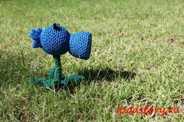 amigurumi crochet Plants vs Zombies
