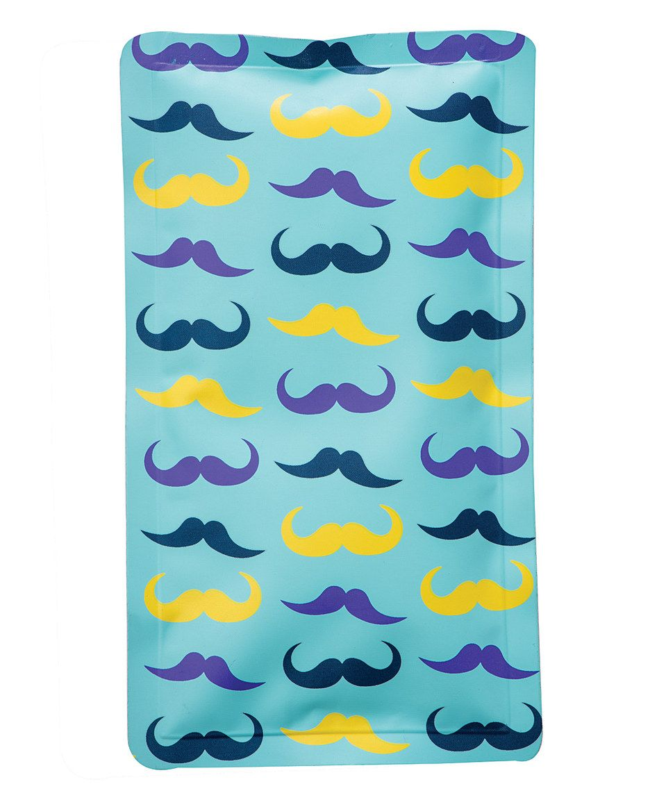 Look what I found on #zulily! Mustache Hot & Cold Pack by theraWell #zulilyfinds