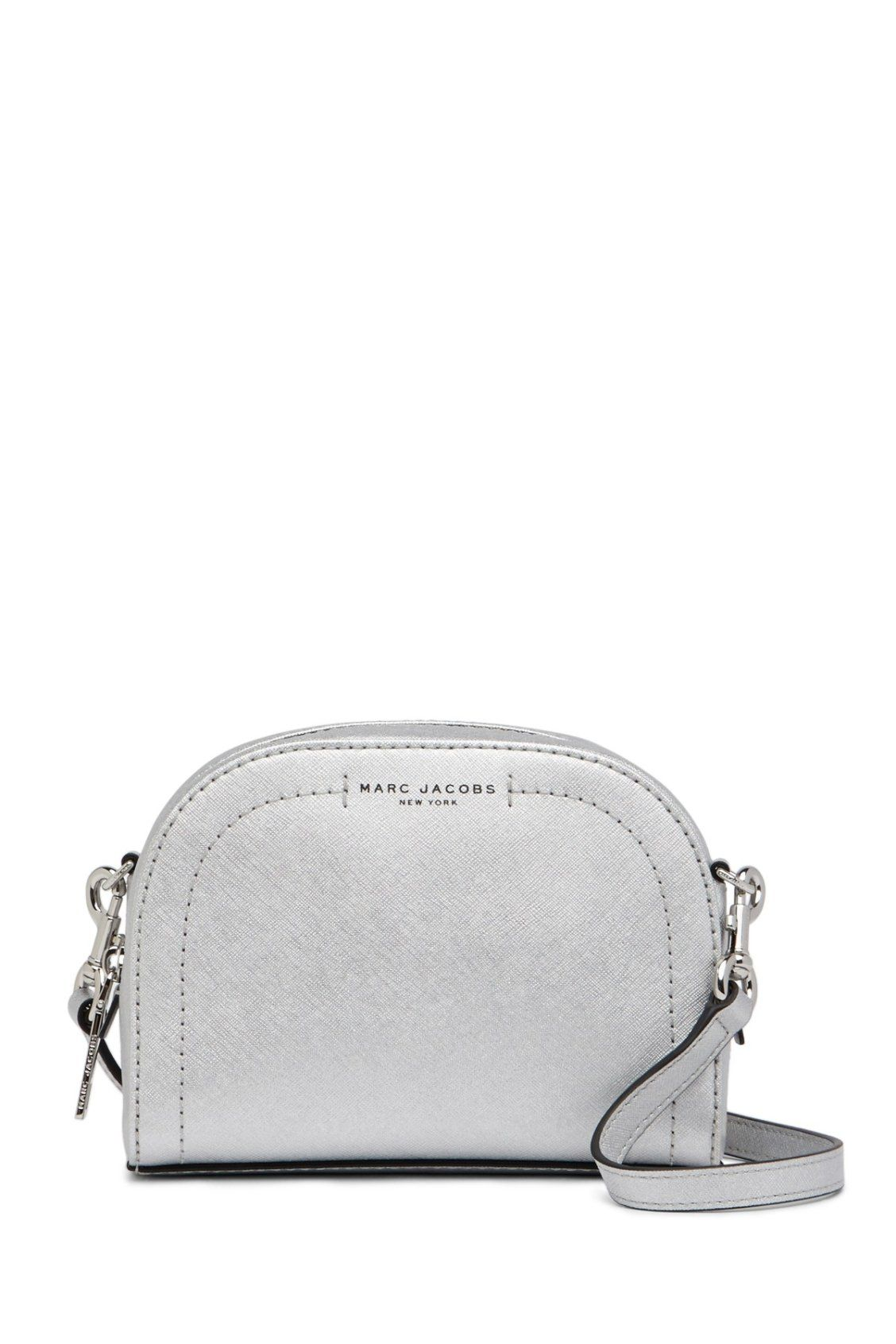 d37d4f6a5f152 Need this Marc Jacobs Playback Metallic Leather Crossbody Bag