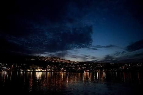 Tiberias by night