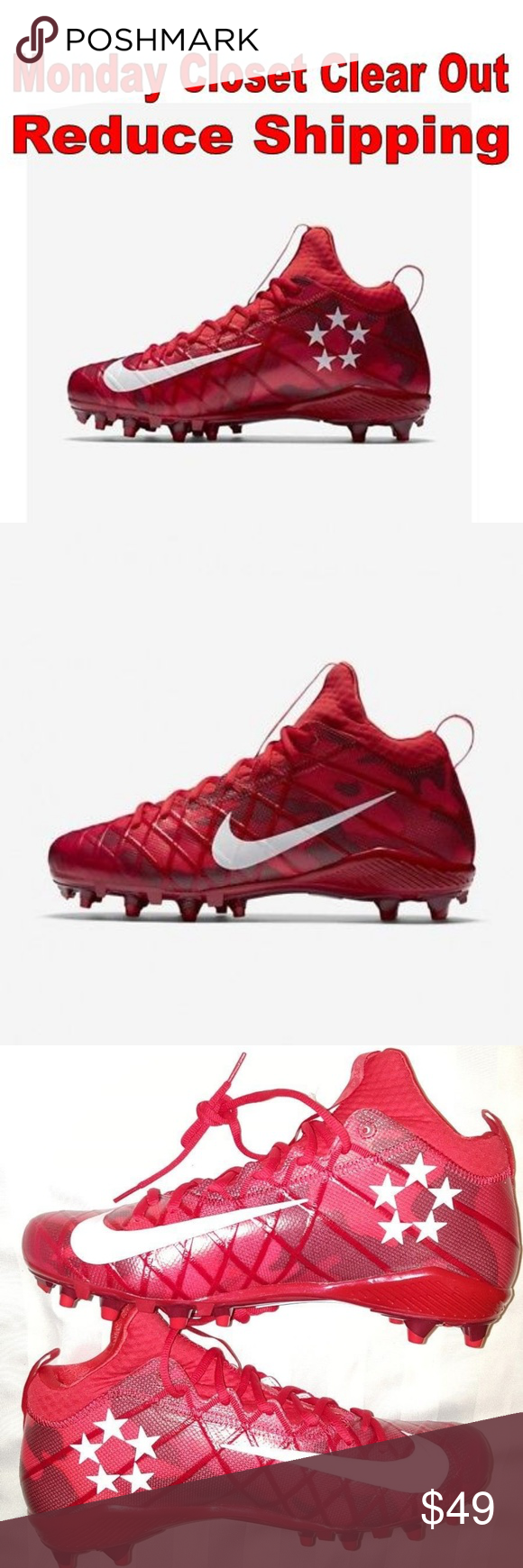d54cea09826c NEW Nike Field General 3 Elite Men Football SZ 16 Nike Field General 3 Elite  TD