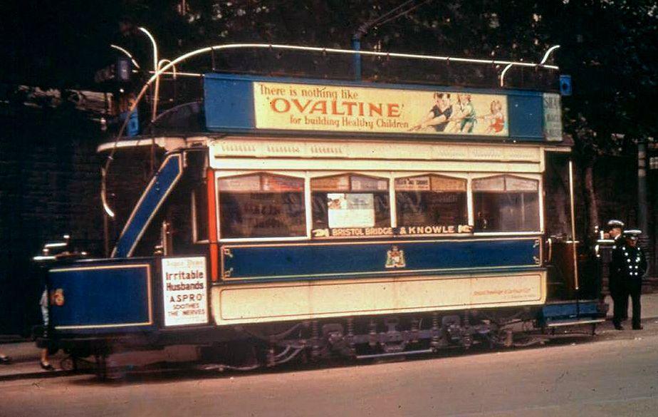 Bristol Tram 1930s. Bristol, Light rail, Around the worlds