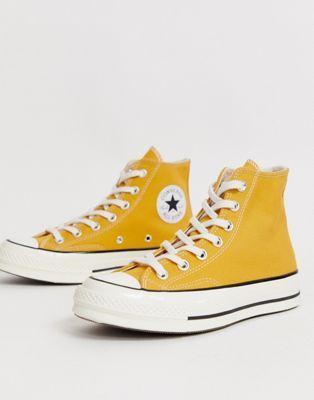 Converse Chuck '70 Hi Sunflower Yellow