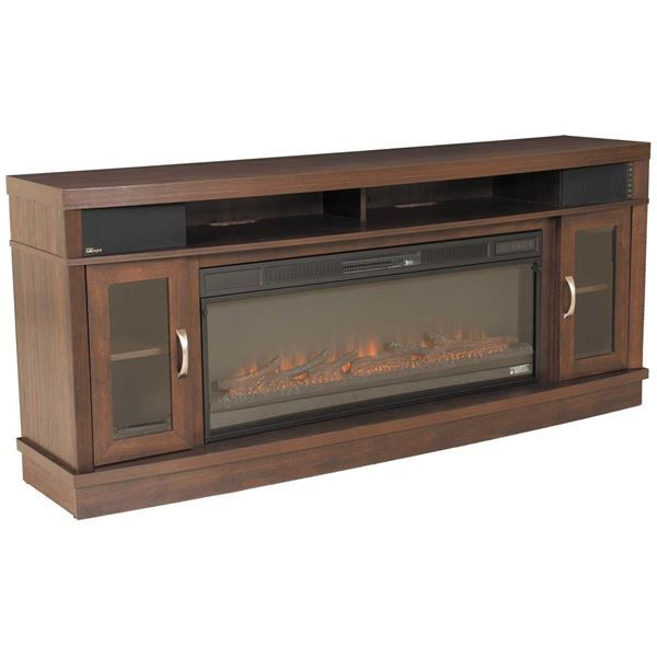 The Deerfield Media Fireplace By Classic Flame Puts More