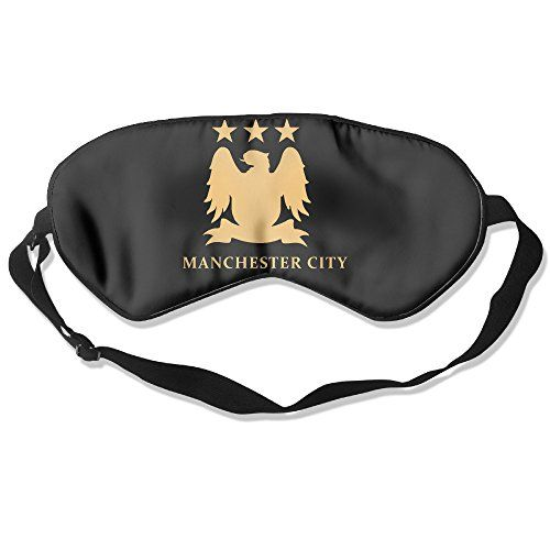 Manchester City Football Eye Mask Cover Shade Blindfold Sleeping Mask *** Be sure to check out this awesome product.(This is an Amazon affiliate link)