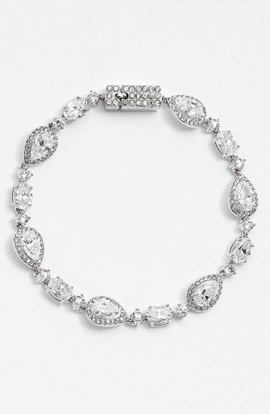 Nadri Crystal Line Bracelet available at Nordstrom Bridal Jewelry