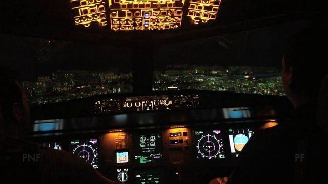 Kai Tak landing A320 Simulator