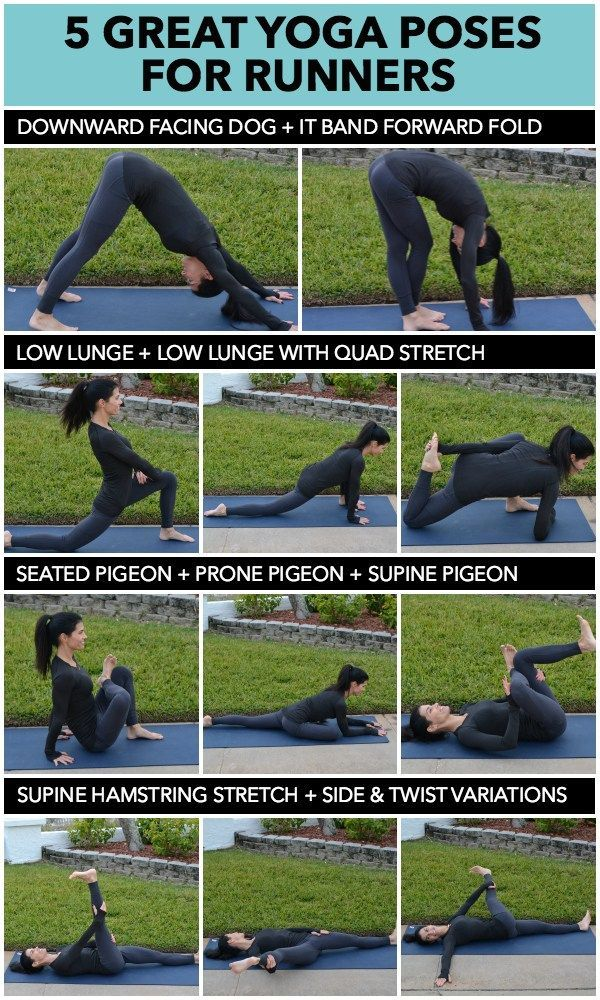Injury Prevention: Recovery Tips  5 Great Yoga Poses for Runners#design