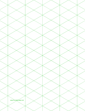 this letter sized isometric graph paper has one inch figures free
