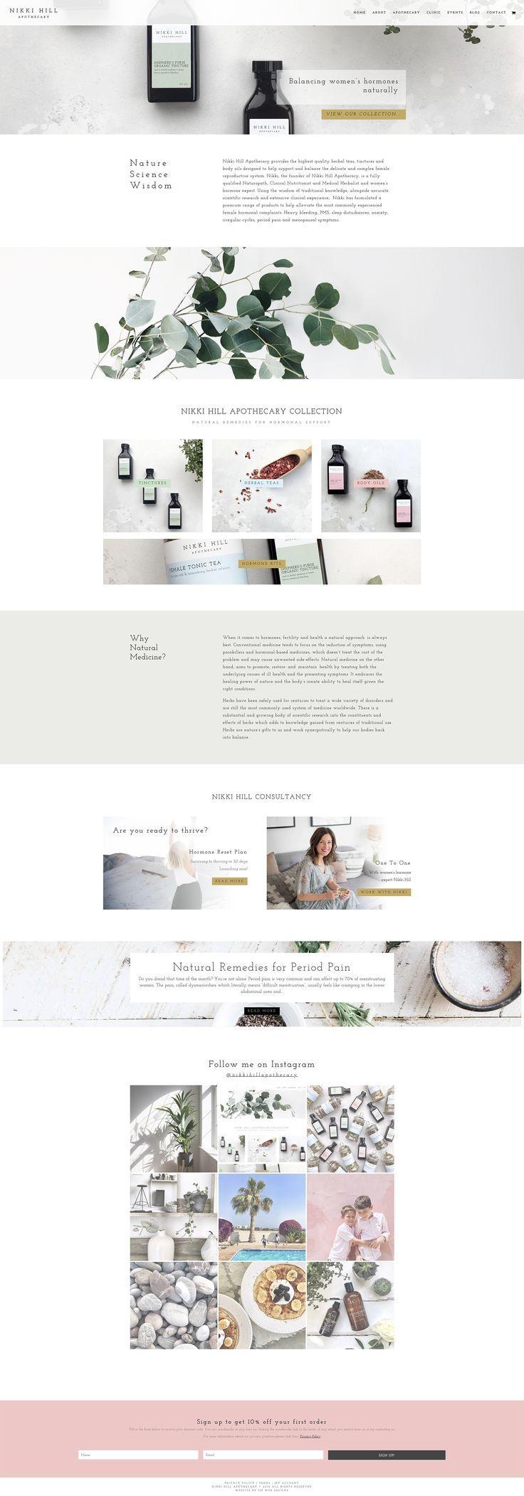 Web Design And Branding Portfolio Blog Design Inspiration Website Design Layout Website Design Inspiration