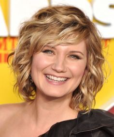 Image result for short to medium length hairstyles for thick wavy ...