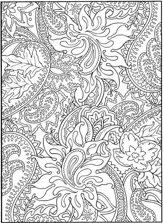 Stress Relief Coloring Pages - Cinebrique