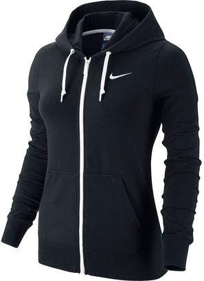 Women's Nike Solid Jersey Full-Zip Hoodie #nike