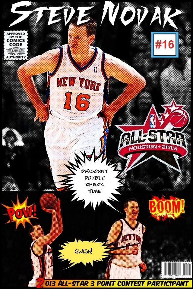 the latest a3540 cb7e1 Steve Novak- Knicks | My Teams and misc. sports | Steve ...