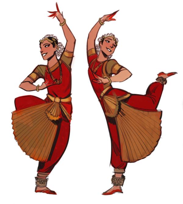 Phobso Sketching Bharatanatyam From Nikolina Nikolenski Shiva S Dance Indian Illustration Indian Classical Dance Indian Dance