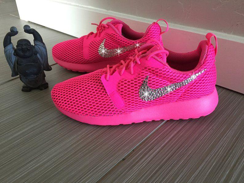 outlet store ed164 58495 Size 6.5 - Swarovski Women's Nike Roshe Run Hyper Breathe ...