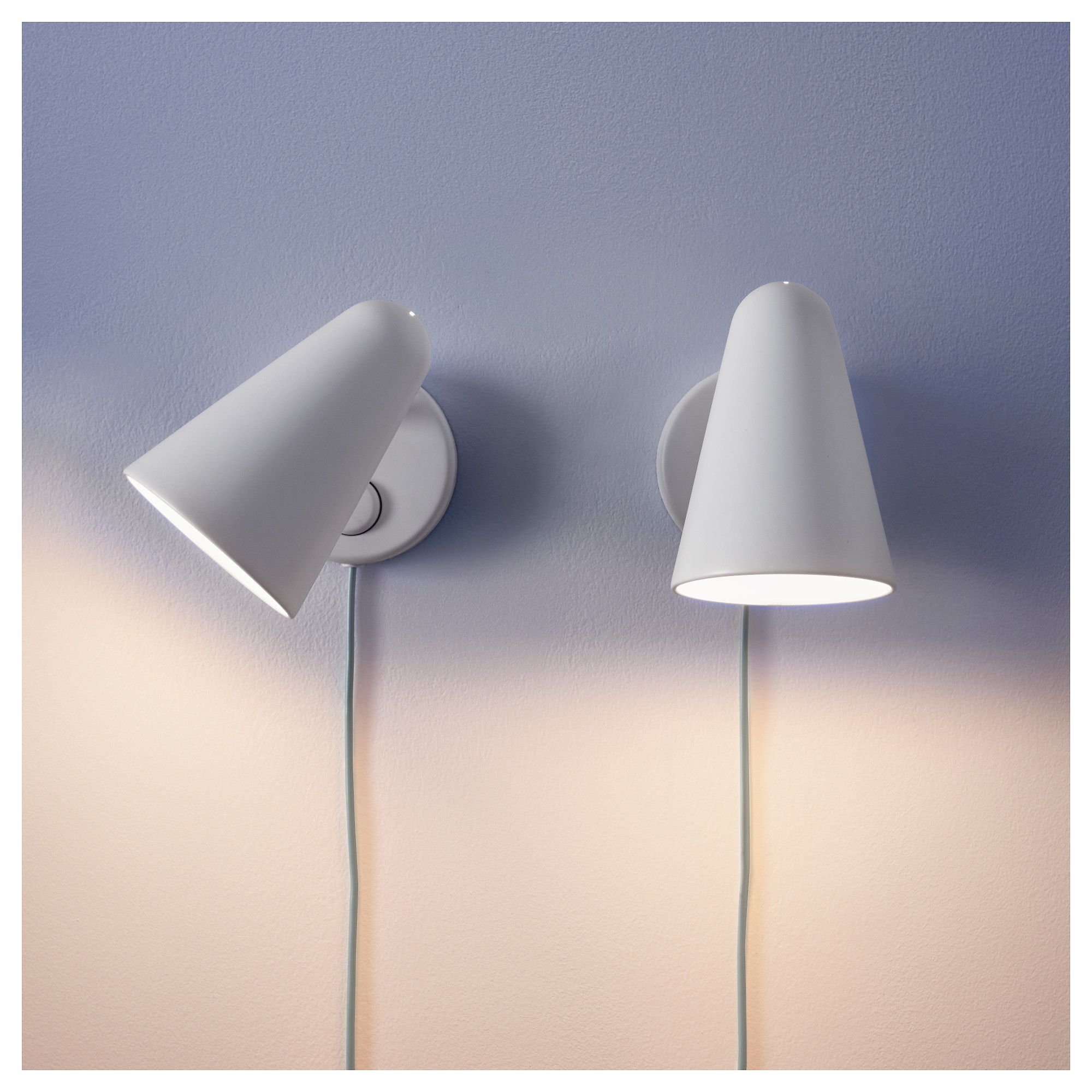 fubbla wall lamp white | walls, cosy and lights