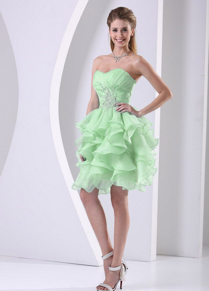 Fabulous Spring Green Ruched Organza College Graduation Dress with Ruffles   - Fashion! - #College #Dress #Fabulous #fashion #graduation #green #Organza #Ruched #Ruffles #Spring #graduationdresscollege Fabulous Spring Green Ruched Organza College Graduation Dress with Ruffles   - Fashion! - #College #Dress #Fabulous #fashion #graduation #green #Organza #Ruched #Ruffles #Spring #graduationdresscollege