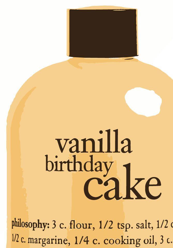 Let Them Eat Cake Philosophy Vanilla Birthday Shampoo