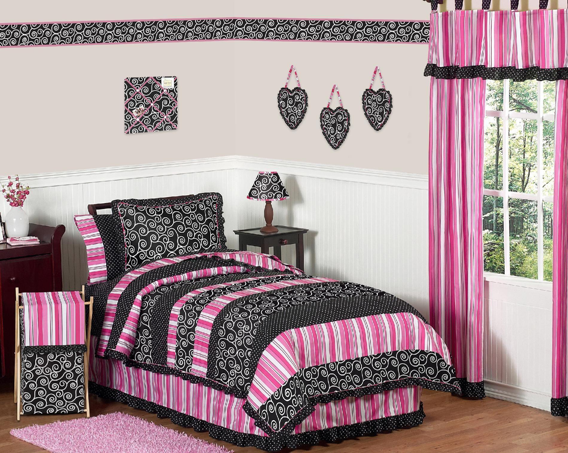 Sweet Jojo Designs Madison Collection 3pc Full Queen Bedding Set